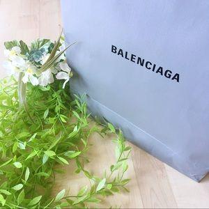 BALENCIAGA Paper Shopping Gift Bag Only Empty